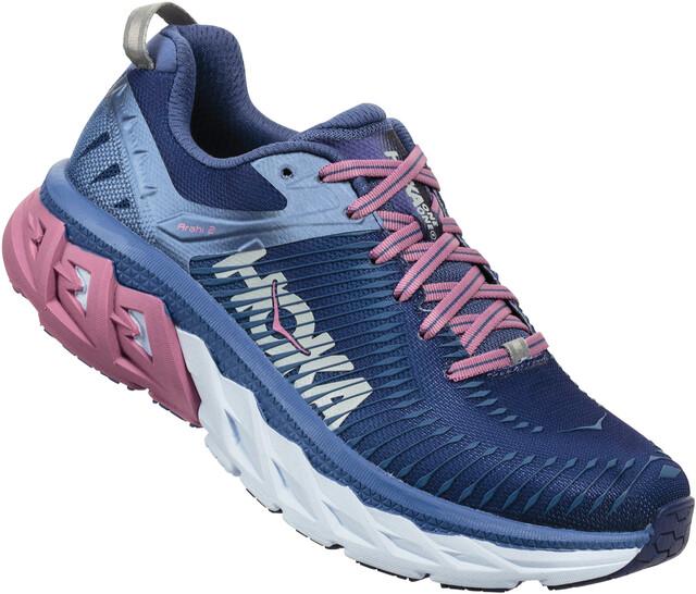 Hoka One One W's Ahari 2 Running Shoes marlin/blå ribbon